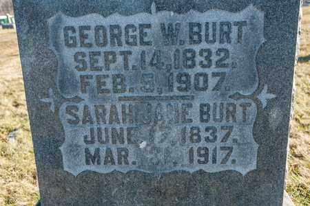 BURT, SARAH JANE - Richland County, Ohio | SARAH JANE BURT - Ohio Gravestone Photos