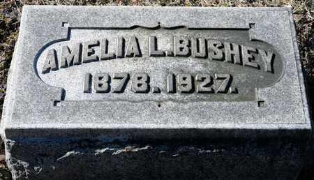 BUSHEY, AMELIA L - Richland County, Ohio | AMELIA L BUSHEY - Ohio Gravestone Photos