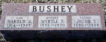 BUSHEY, HAROLD J - Richland County, Ohio | HAROLD J BUSHEY - Ohio Gravestone Photos