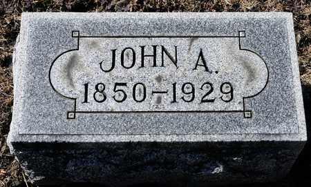 BUSHEY, JOHN A - Richland County, Ohio | JOHN A BUSHEY - Ohio Gravestone Photos