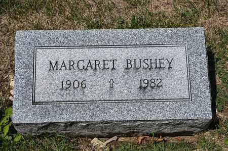BUSHEY, MARGARET - Richland County, Ohio   MARGARET BUSHEY - Ohio Gravestone Photos