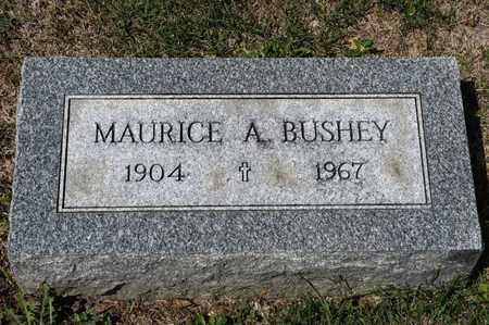 BUSHEY, MAURICE A - Richland County, Ohio | MAURICE A BUSHEY - Ohio Gravestone Photos