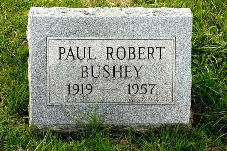 BUSHEY, PAUL ROBERT - Richland County, Ohio | PAUL ROBERT BUSHEY - Ohio Gravestone Photos