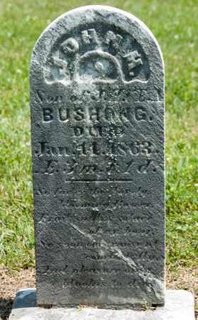 BUSHONG, JOHN M - Richland County, Ohio   JOHN M BUSHONG - Ohio Gravestone Photos