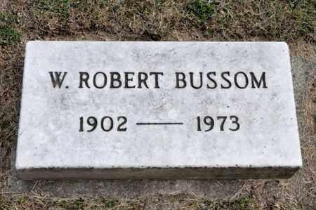 BUSSOM, W ROBERT - Richland County, Ohio | W ROBERT BUSSOM - Ohio Gravestone Photos