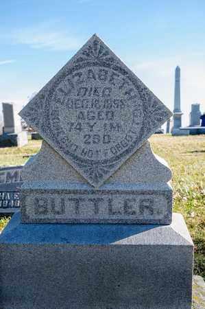 BUTTLER, ELIZABETH - Richland County, Ohio   ELIZABETH BUTTLER - Ohio Gravestone Photos