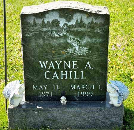 CAHILL, WAYNE A - Richland County, Ohio | WAYNE A CAHILL - Ohio Gravestone Photos