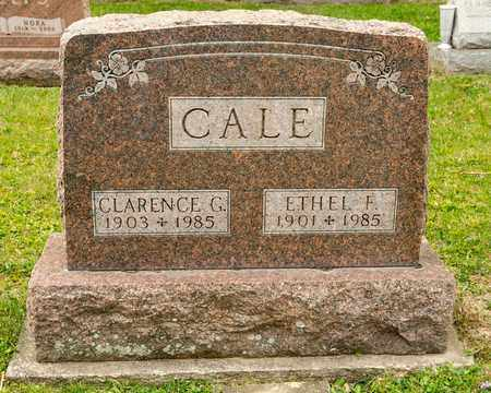CALE, CLARENCE G - Richland County, Ohio | CLARENCE G CALE - Ohio Gravestone Photos