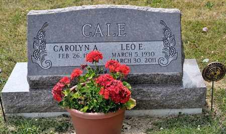 CALE, LEO E - Richland County, Ohio | LEO E CALE - Ohio Gravestone Photos