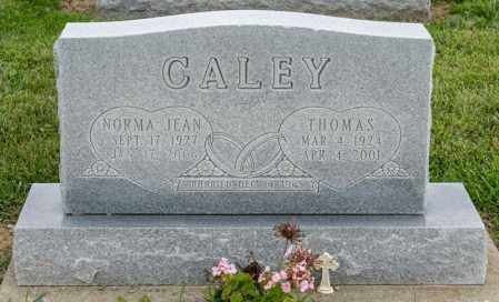 CALEY, NORMA JEAN - Richland County, Ohio | NORMA JEAN CALEY - Ohio Gravestone Photos