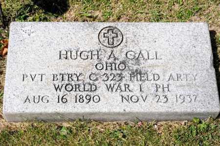 CALL, HUGH A - Richland County, Ohio | HUGH A CALL - Ohio Gravestone Photos