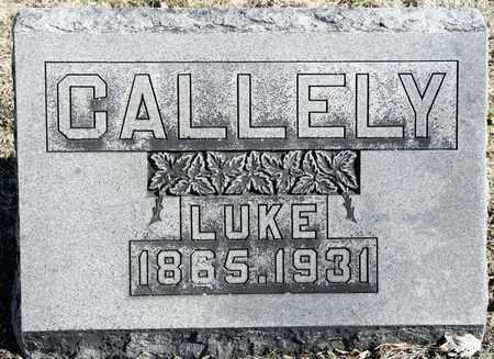 CALLELY, LUKE - Richland County, Ohio   LUKE CALLELY - Ohio Gravestone Photos