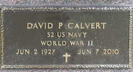 CALVERT, DAVID P - Richland County, Ohio | DAVID P CALVERT - Ohio Gravestone Photos