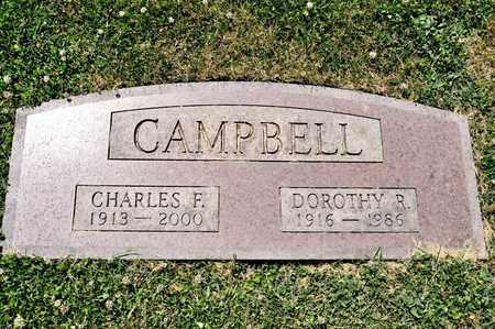 CAMPBELL, DOROTHY R - Richland County, Ohio   DOROTHY R CAMPBELL - Ohio Gravestone Photos