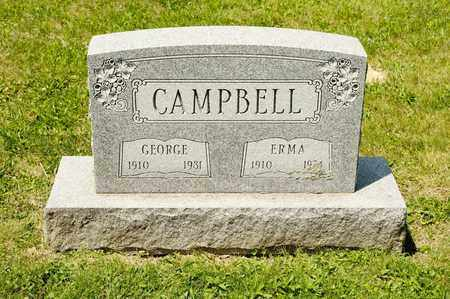 CAMPBELL, ERMA - Richland County, Ohio | ERMA CAMPBELL - Ohio Gravestone Photos