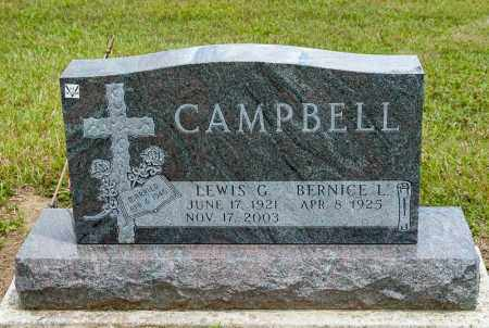 CAMPBELL, LEWIS G - Richland County, Ohio | LEWIS G CAMPBELL - Ohio Gravestone Photos