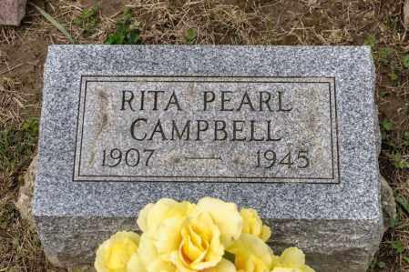 CAMPBELL, RITA PEARL - Richland County, Ohio   RITA PEARL CAMPBELL - Ohio Gravestone Photos