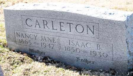 CARLETON, ISAAC B - Richland County, Ohio | ISAAC B CARLETON - Ohio Gravestone Photos