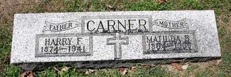 CARNER, HARRY F - Richland County, Ohio | HARRY F CARNER - Ohio Gravestone Photos