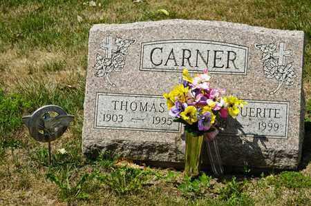 CARNER, MARGUERITE - Richland County, Ohio | MARGUERITE CARNER - Ohio Gravestone Photos