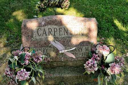 CARPENTER, MARY M - Richland County, Ohio | MARY M CARPENTER - Ohio Gravestone Photos