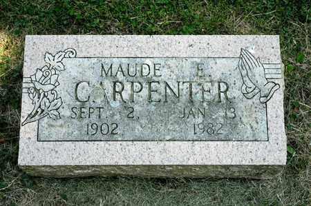 CARPENTER, MAUDE E - Richland County, Ohio | MAUDE E CARPENTER - Ohio Gravestone Photos