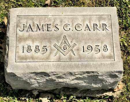 CARR, JAMES G - Richland County, Ohio | JAMES G CARR - Ohio Gravestone Photos