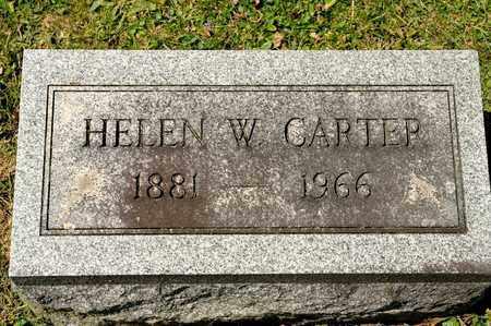 CARTER, HELEN W - Richland County, Ohio | HELEN W CARTER - Ohio Gravestone Photos