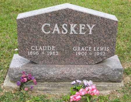 CASKEY, CLAUDE - Richland County, Ohio | CLAUDE CASKEY - Ohio Gravestone Photos