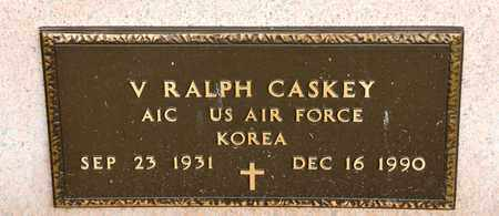 CASKEY, V RALPH - Richland County, Ohio | V RALPH CASKEY - Ohio Gravestone Photos