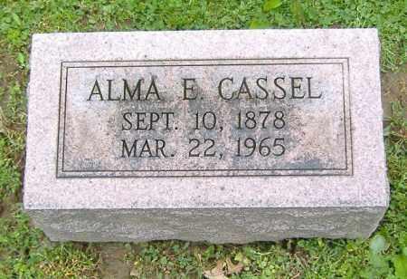 CASSEL, ALMA E. - Richland County, Ohio | ALMA E. CASSEL - Ohio Gravestone Photos