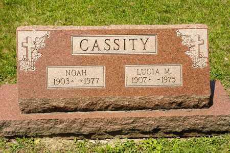 CASSITY, LUCIA M - Richland County, Ohio | LUCIA M CASSITY - Ohio Gravestone Photos