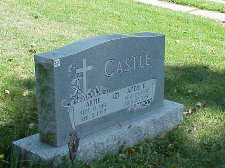 CASTLE, ARTIE - Richland County, Ohio | ARTIE CASTLE - Ohio Gravestone Photos