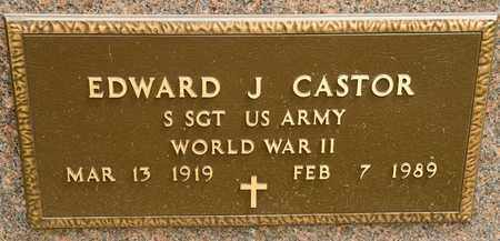 CASTOR, EDWARD J - Richland County, Ohio   EDWARD J CASTOR - Ohio Gravestone Photos