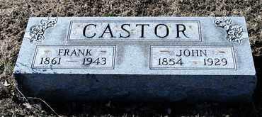 CASTOR, FRANK - Richland County, Ohio   FRANK CASTOR - Ohio Gravestone Photos