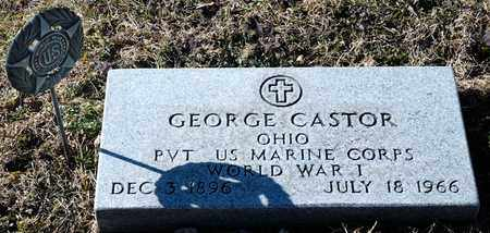 CASTOR, GEORGE - Richland County, Ohio | GEORGE CASTOR - Ohio Gravestone Photos