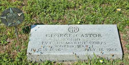 CASTOR, GEORGE - Richland County, Ohio   GEORGE CASTOR - Ohio Gravestone Photos