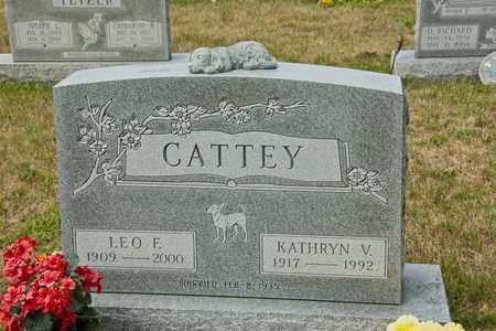 CATTEY, LEO F - Richland County, Ohio | LEO F CATTEY - Ohio Gravestone Photos