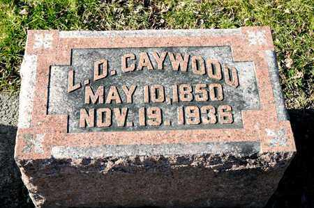 CAYWOOD, L D - Richland County, Ohio | L D CAYWOOD - Ohio Gravestone Photos