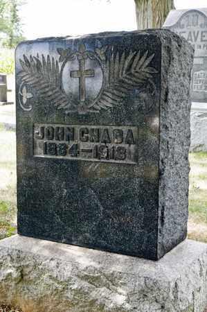 CHADA, JOHN - Richland County, Ohio | JOHN CHADA - Ohio Gravestone Photos