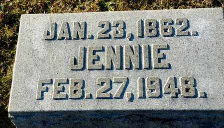 CHAMPION, JENNIE - Richland County, Ohio | JENNIE CHAMPION - Ohio Gravestone Photos