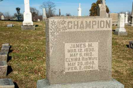 CHAMPION, JAMES M - Richland County, Ohio | JAMES M CHAMPION - Ohio Gravestone Photos