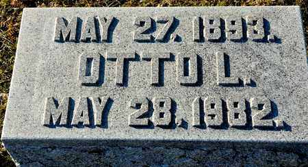 CHAMPION, OTTO L - Richland County, Ohio   OTTO L CHAMPION - Ohio Gravestone Photos