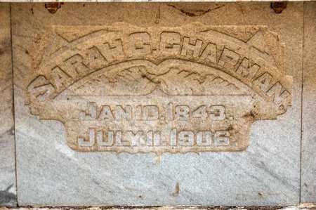 CHAPMAN, SARAH C - Richland County, Ohio | SARAH C CHAPMAN - Ohio Gravestone Photos