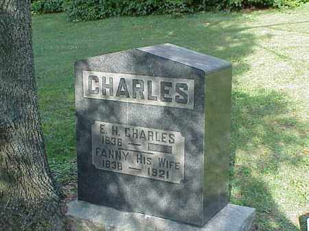 CHARLES, E.H. - Richland County, Ohio   E.H. CHARLES - Ohio Gravestone Photos