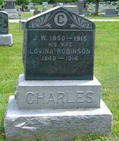 CHARLES, LOVINA - Richland County, Ohio | LOVINA CHARLES - Ohio Gravestone Photos