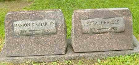 FRYE CHARLES, MYRA - Richland County, Ohio | MYRA FRYE CHARLES - Ohio Gravestone Photos