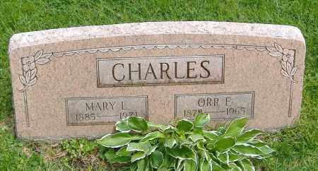 CHARLES, ORR FREDERICK - Richland County, Ohio | ORR FREDERICK CHARLES - Ohio Gravestone Photos