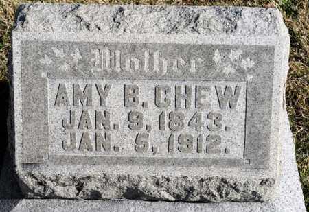 CHEW, AMY B - Richland County, Ohio | AMY B CHEW - Ohio Gravestone Photos