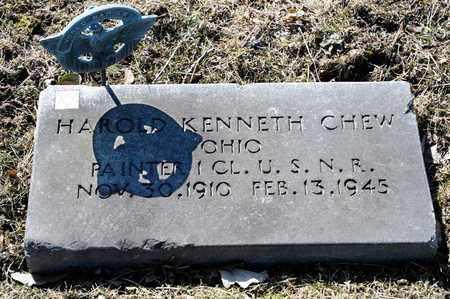 CHEW, HAROLD KENNETH - Richland County, Ohio | HAROLD KENNETH CHEW - Ohio Gravestone Photos